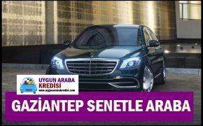 Gaziantep Senetle Araba 2019 (Hemen Satış)