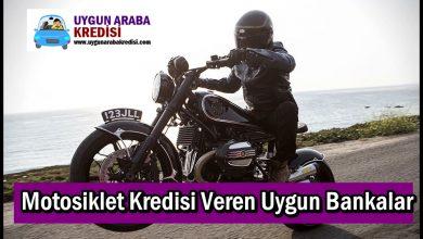 Motosiklet Kredisi Veren Uygun Bankalar