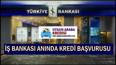 İş Bankası Hızlı Kredi Başvurusu