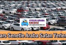Kars Senetle Araba Satan Yerler